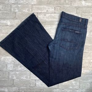 7 For All Man Kind Super Flare Size 29""